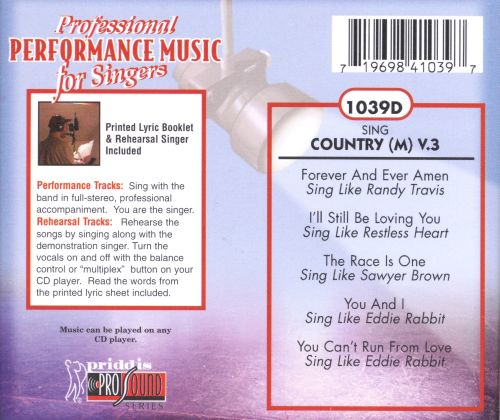 Sing Country Vol. 3
