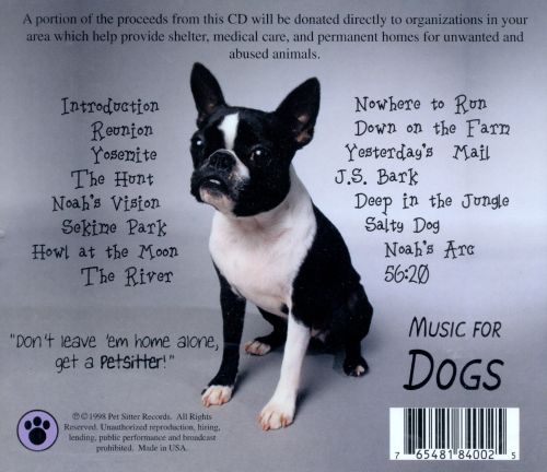 Canine Composer's Series: Music for Dogs