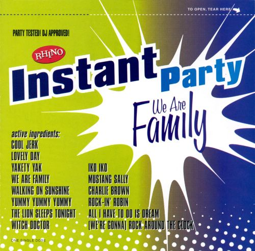 Instant Party: We Are Family