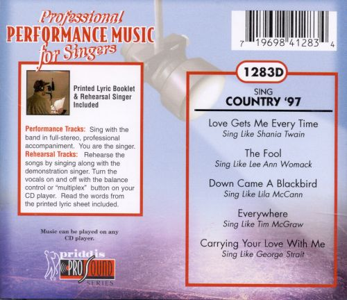 Sing Country '97