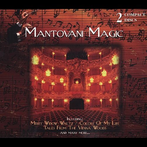 The Magic of Mantovani Orchestra/A Night in Vienna