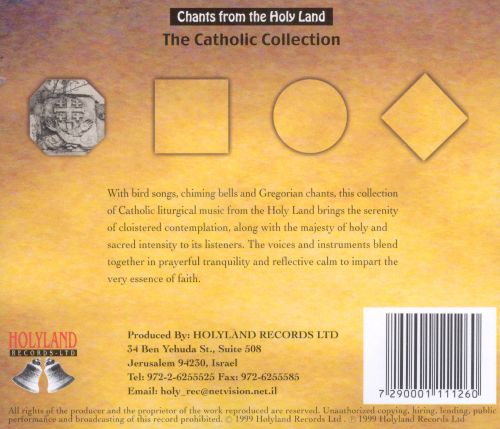 Chants From the Holy Land Vol. 26