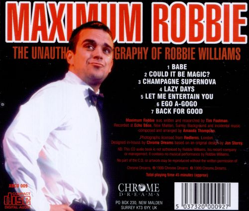 Maximum Robbie
