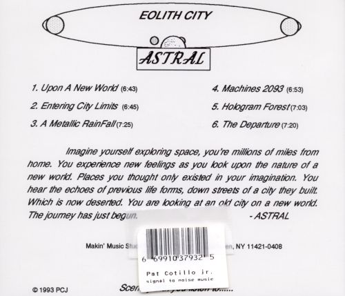 Astral-Eolith City