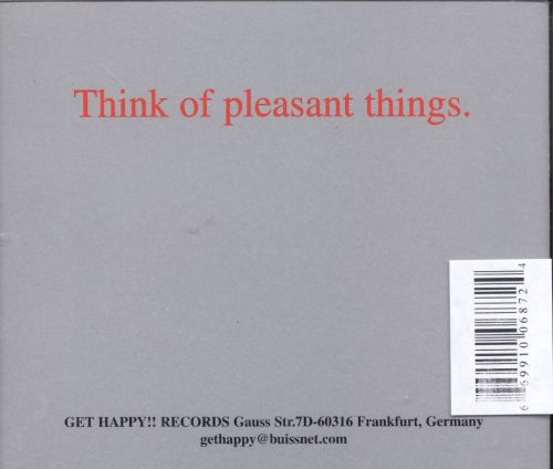 Think of Pleasant Things