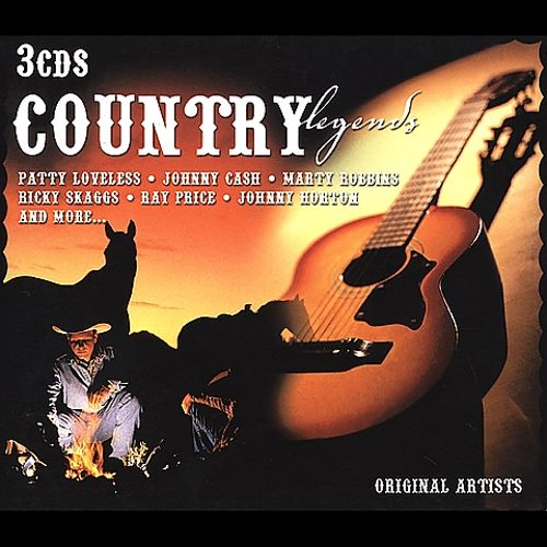 Country Legends [3 Disc Set]