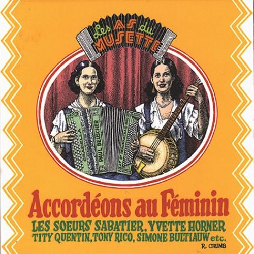 Aces of the Accordion, Vol. 2: The Feminine Accord