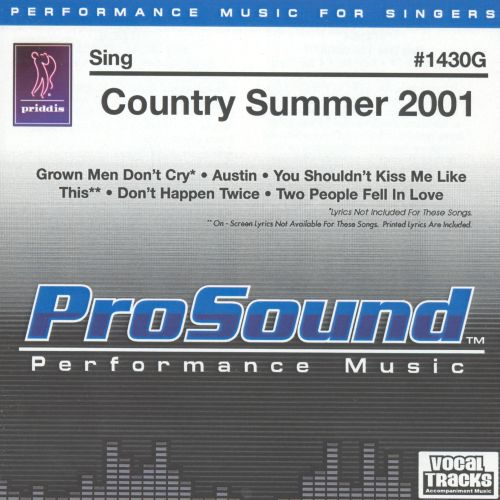 Sing Country Summer 2001