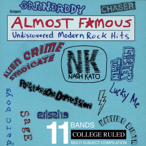 Almost Famous: Undiscovered Modern Rock Hits