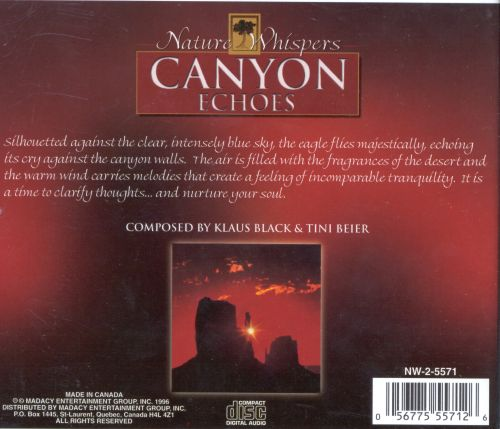 Nature Whispers: Canyon Echoes