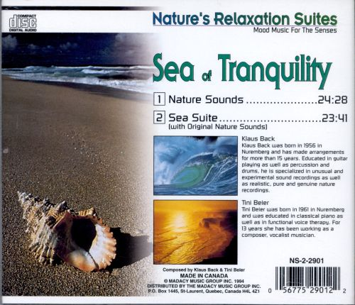 Nature Whispers: Sea of Tranquility