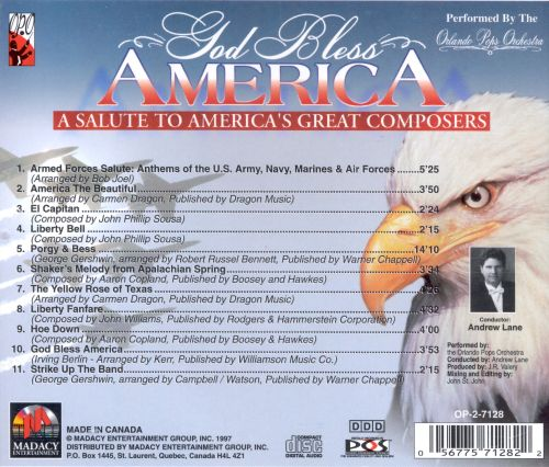 God Bless America: A Salute to America's Great Composers
