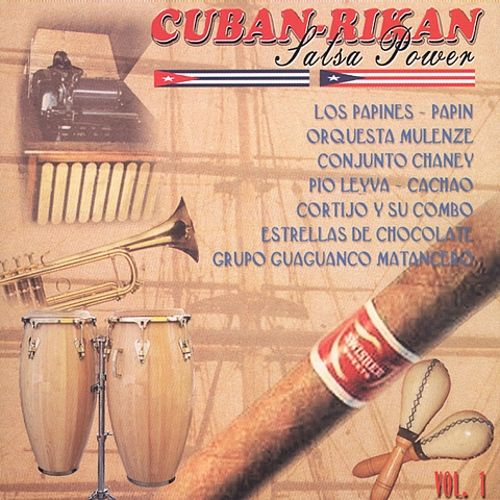 Cuban-Rikan Salsa Power, Vol. 1