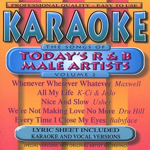 The Songs of Today's R&B Male Artists, Vol. 2