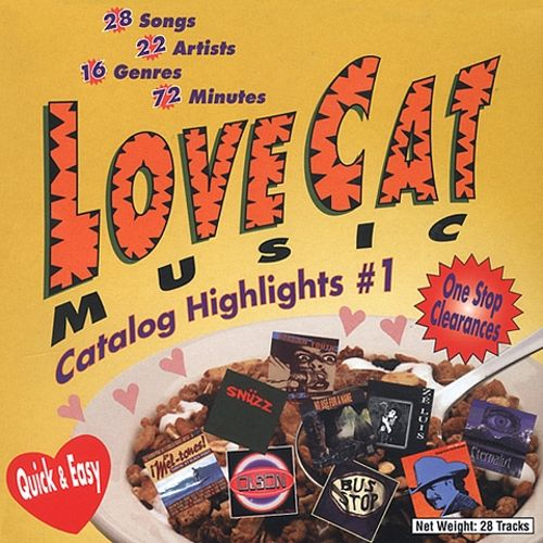 LoveCat Music Catalog Highlights, Vol. 1: Rock, Country, Dance, Jazz & More