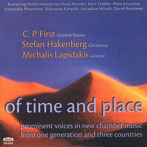 Of Time and Place: Prominent Voices in New Chamber Music