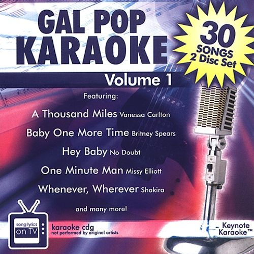Gal Pop Karaoke, Vol. 1