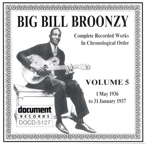 Complete Recorded Works, Vol. 5 (1936-1937)