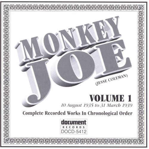 Complete Recorded Works, Vol. 1 (1935-39)