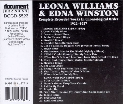 Complete Recorded Works (1922-1927)