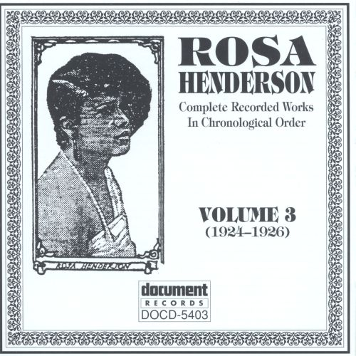 Complete Recorded Works, Vol. 3 (1924-1926)