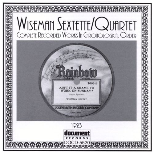 Complete Recorded Works: 1923