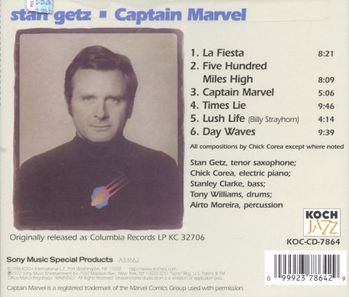 captain marvel getz