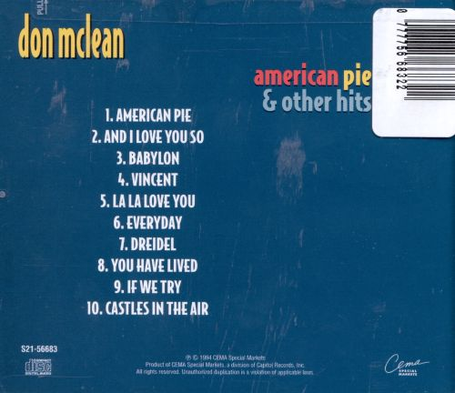 American Pie & Other Hits