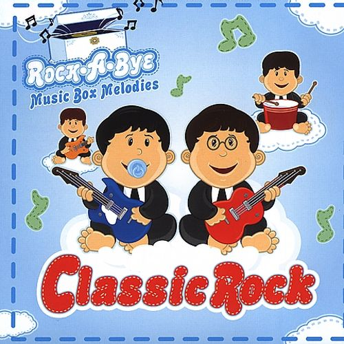 Drew's Famous Rock-A-Bye Music Box Melodies Classic Rock