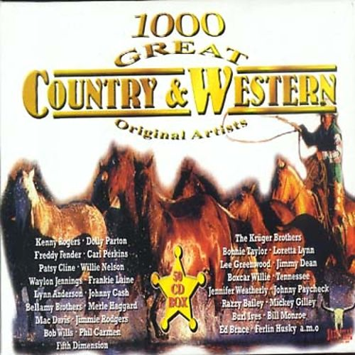 1000 Great Country & Western