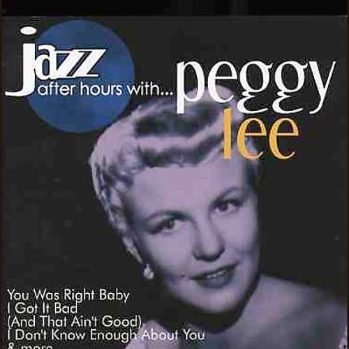 Jazz After Hours with Peggy Lee