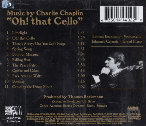 Oh! That Cello: Music by Charlie Chaplin