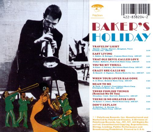 Bakers Holiday