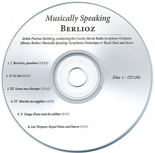 Musically Speaking / Czecho-Slovak Radio Symphony / 2 Disc Collection