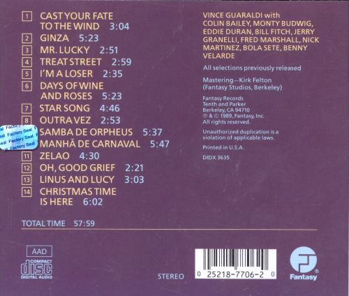 Greatest Hits Vince Guaraldi Songs Reviews Credits