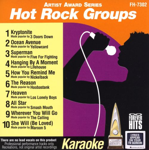 Karaoke: Hot Rock Groups