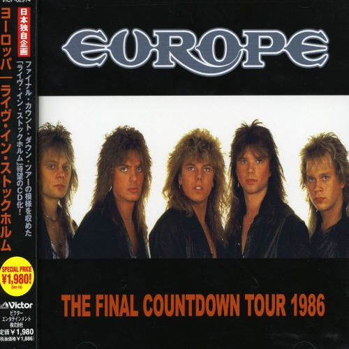 The Final Countdown Tour 1986