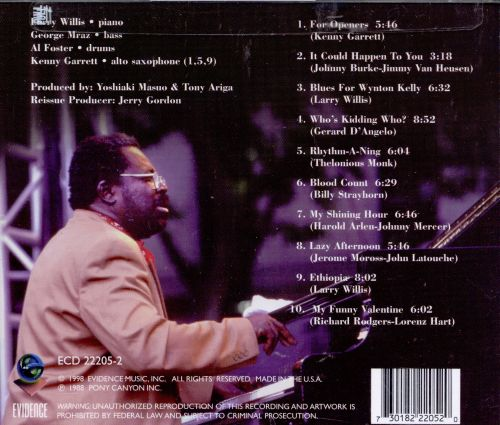 My Funny Valentine Larry Willis Songs Reviews Credits Allmusic
