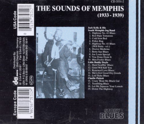 The Sounds of Memphis (1933-1939)