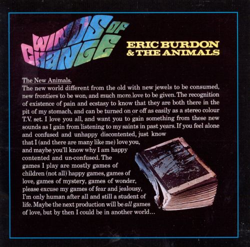 Eric Burdon & The Animals, Eric Burdon