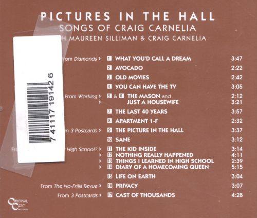 Pictures in the Hall: Songs of Craig Carnelia