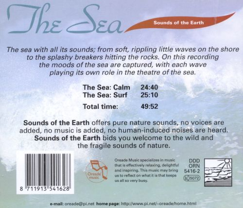 Sounds of the Earth: Sea