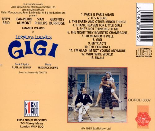 Gigi [Original Cast Recording]