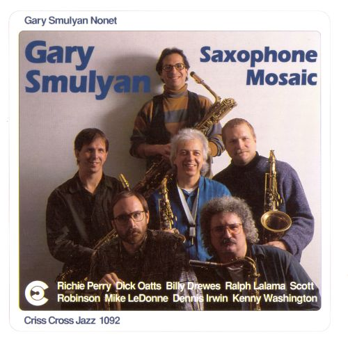 Image result for gary smulyan saxophone mosaic