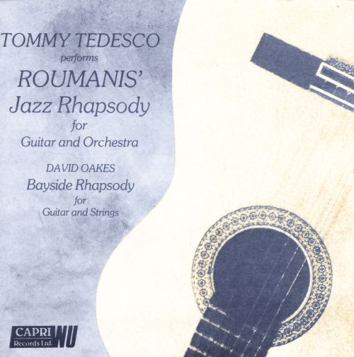 Tommy Tedesco Performs Roumanis' Jazz Rhapsody for Guitar & Orchestra