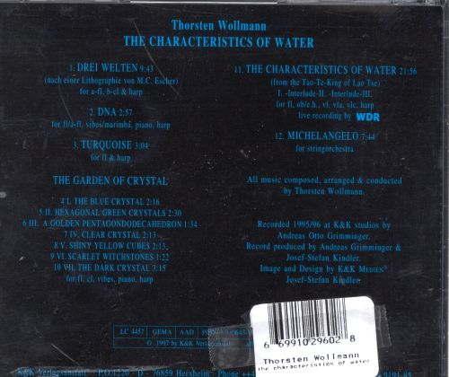 The Characteristics of Water