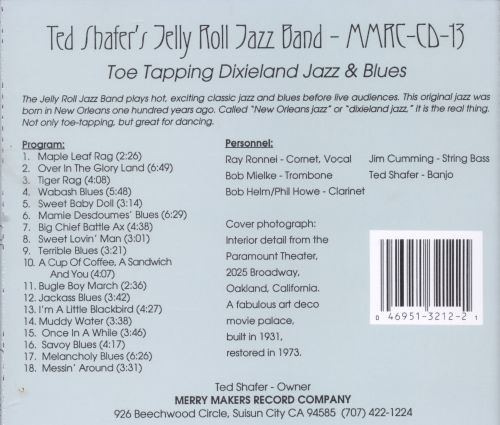 Toe-Tapping Dixieland Jazz