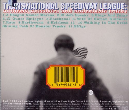 Transnational Speedway League: Anthems, Anecdotes & Undeniable Truths