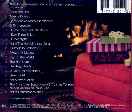 The Christmas Song - Nat King Cole | Songs, Reviews, Credits ...