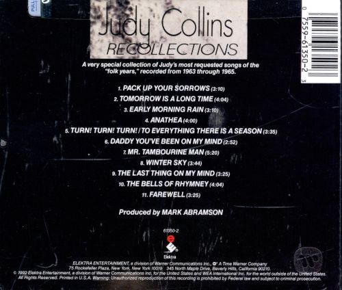 Recollections: The Best of Judy Collins